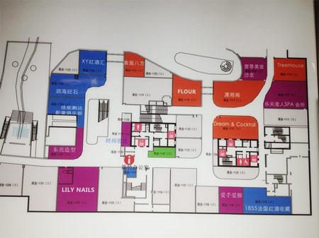 三里屯 平面图_从美澳购物中心的比较对规模、定位和组合概念的反思_飙马商业 ...